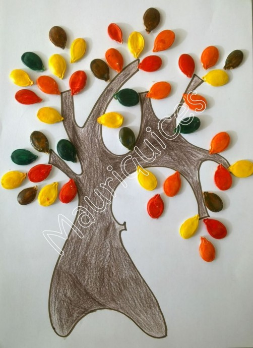 Деревья осенью: идеи
