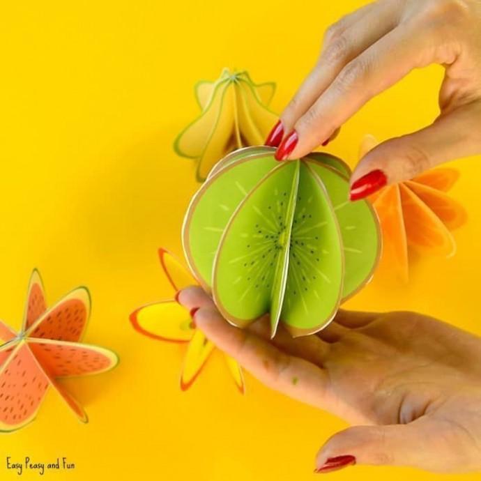 Оригинальные фрукты