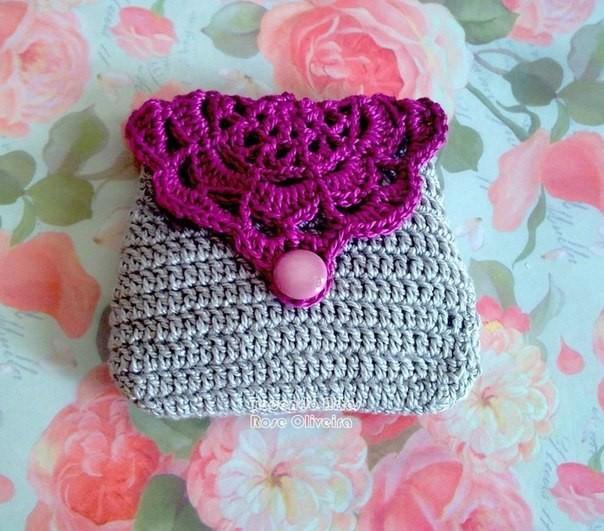 Красивая сумочка крючком