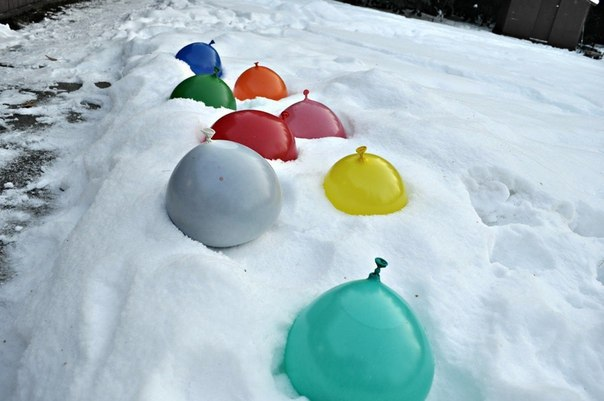 Творческие игры на морозе 2