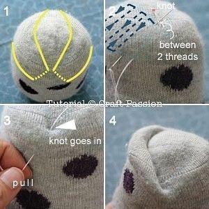 Совушки из носка