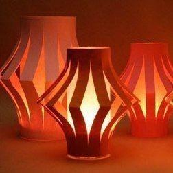Бумажные фонарики
