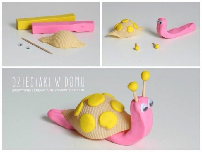 Идеи для лепки из пластилина с применением макарон