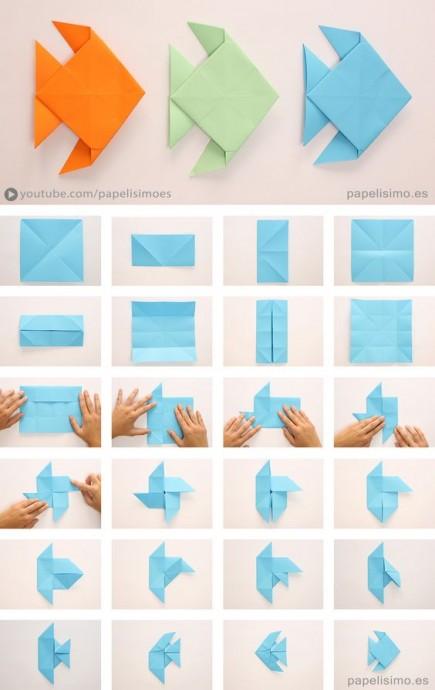 Искусство оригами с детьми 7