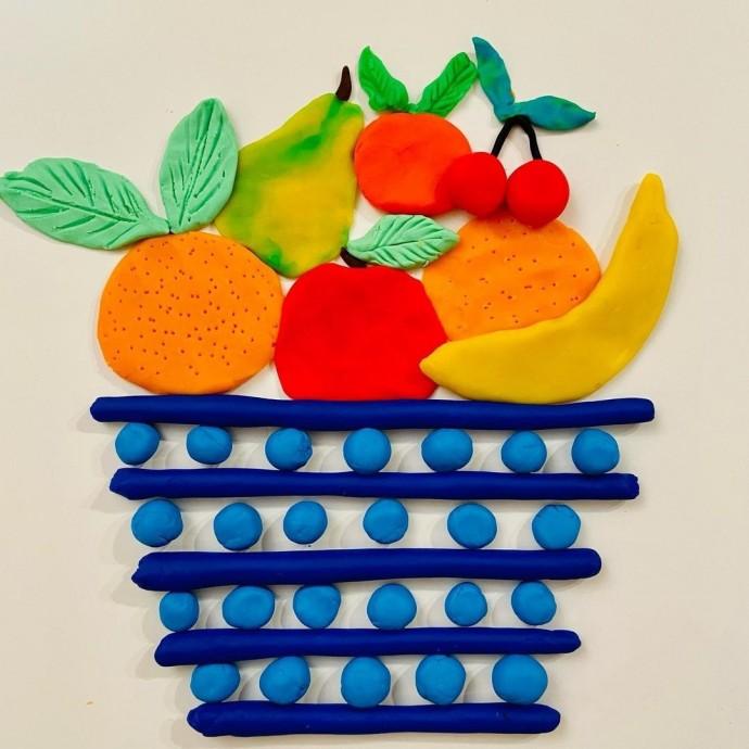 Пластилиновый натюрморт: идеи для детского творчества