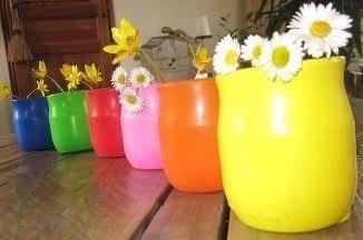 Красивые вазы с помощью воздушных шариков
