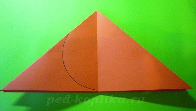 """Оригами """"Божья коровка"""" 5"""