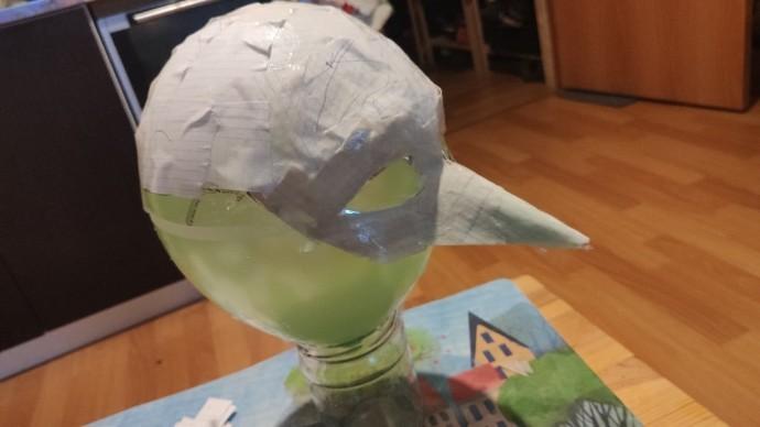 Маска (папье-маше) для детского маскарада