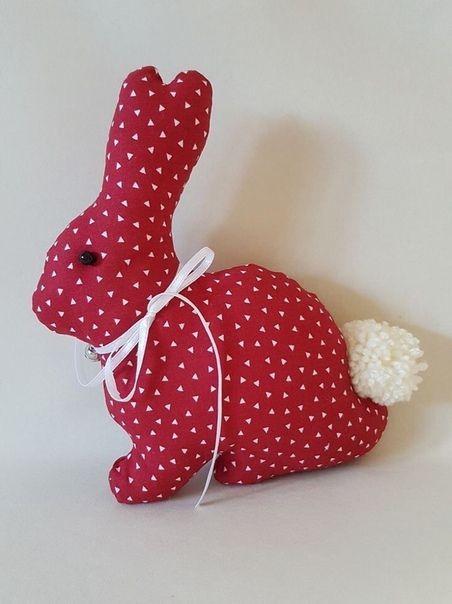 Простые и очаровательные текстильные игрушки 6