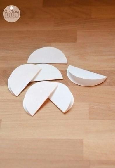 Шикарный букет из кружочков обычной бумаги