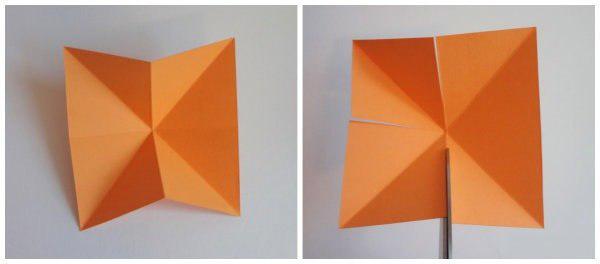 Звёздочка из бумаги 1