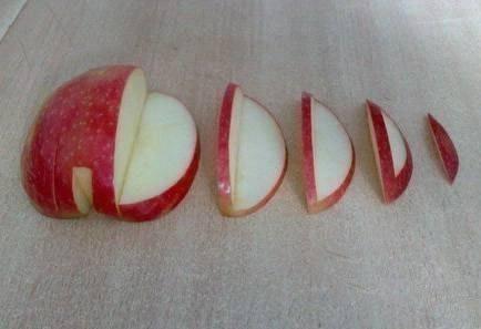 Лебедь из яблока: кулинарная поделка с детьми