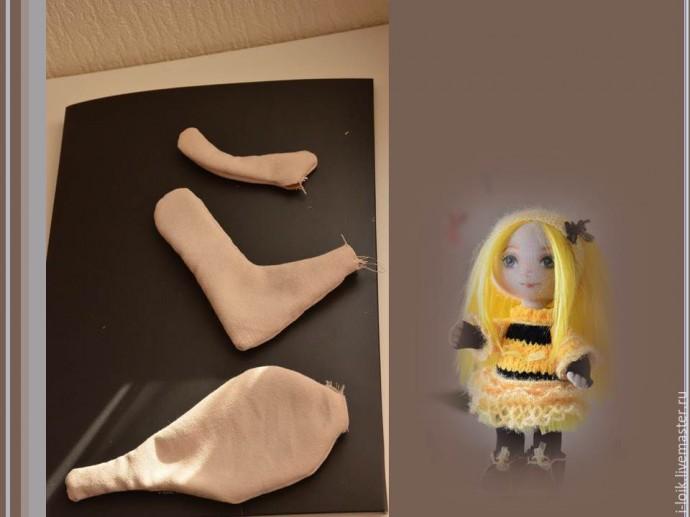 Шьем текстильную куколку: мастер-класс с выкройкой