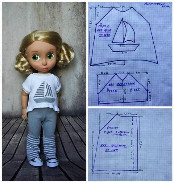 Шьем одежду для куколок 3