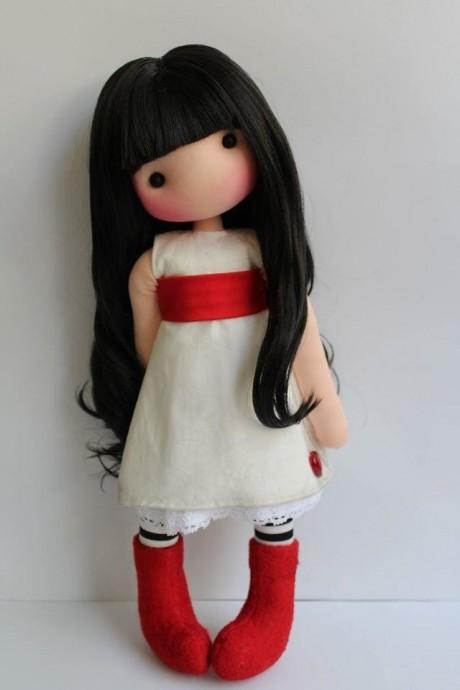 Хорошенькие куколки из ткани