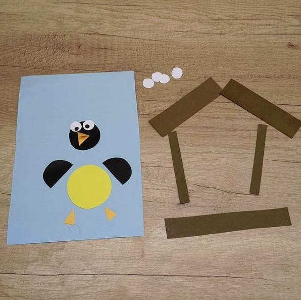 Птичка в домике 1