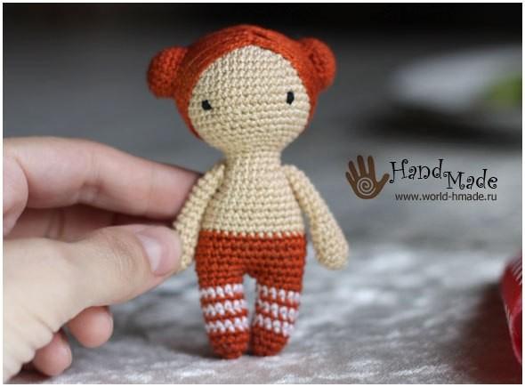 Вязаная куколка 6