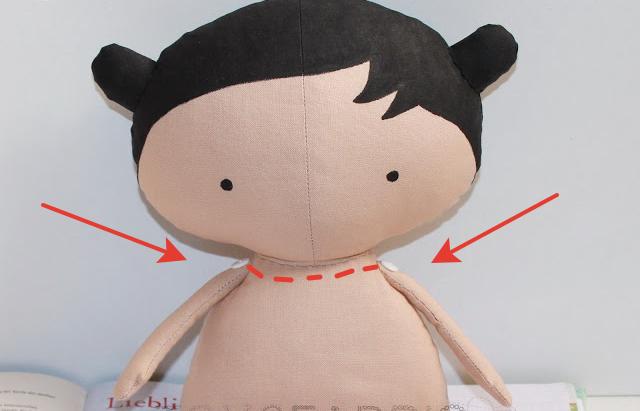 Куколка из ткани