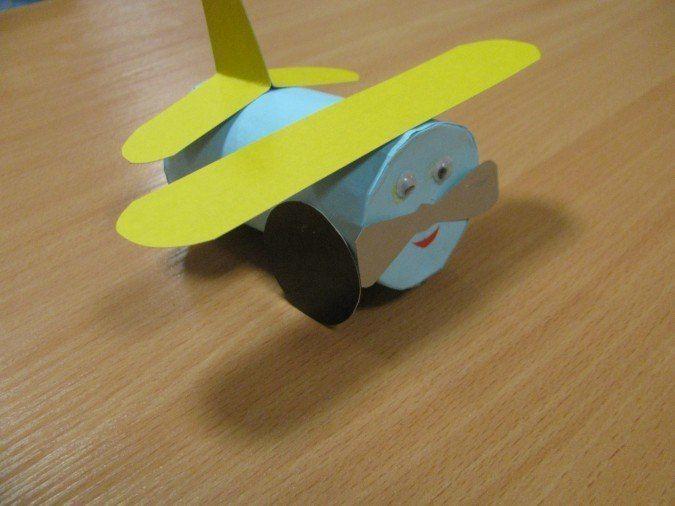 Самолетики из цилиндров 1