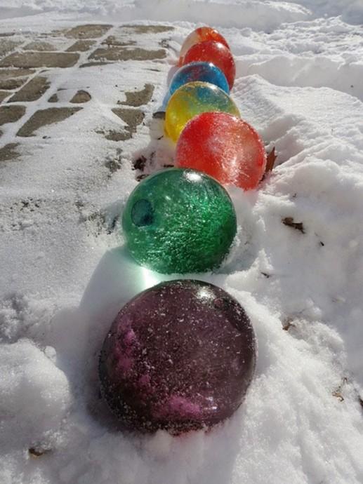 Творческие игры на морозе 6