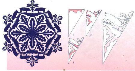 Схемы головокружительных снежинок 2