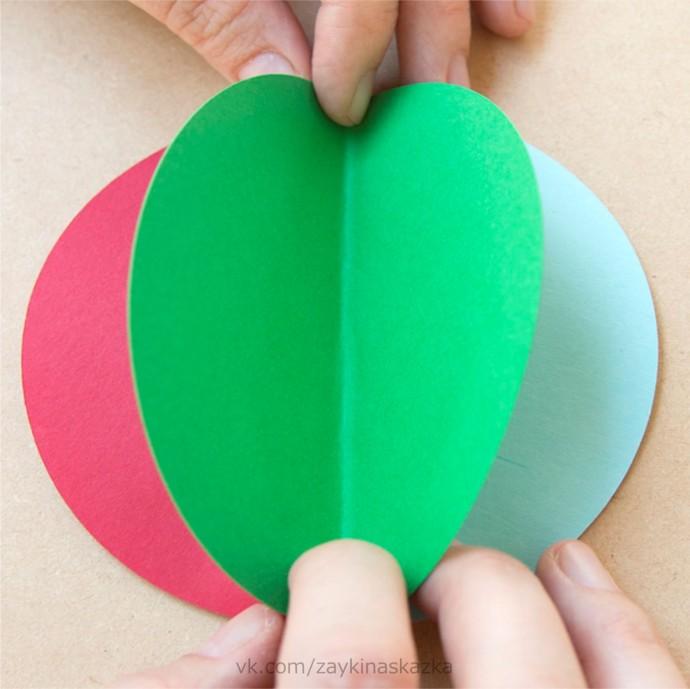 Воздушные шары из бумаги