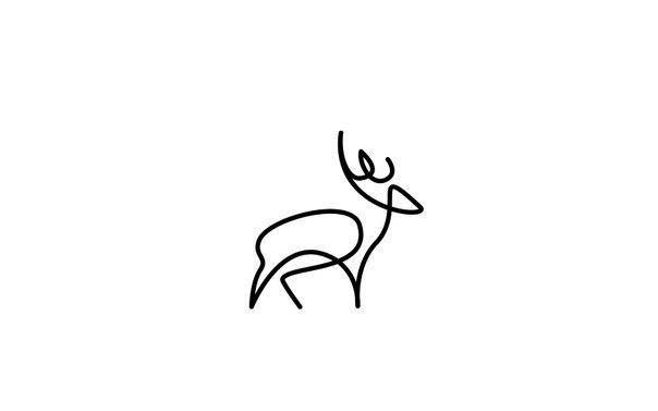 Животные, нарисованные одной линией 6