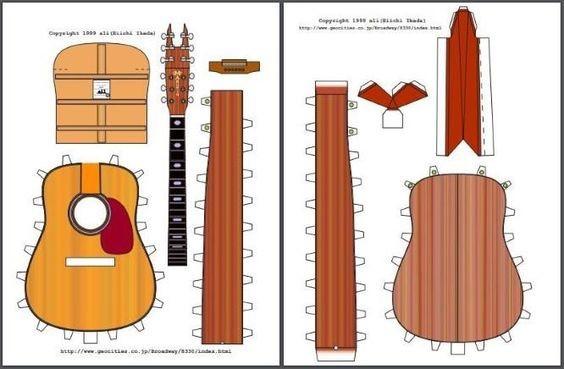 Бумажная гитара