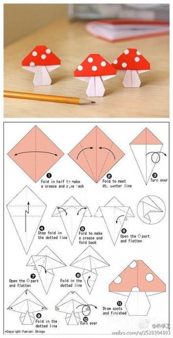 Искусство оригами с детьми 9