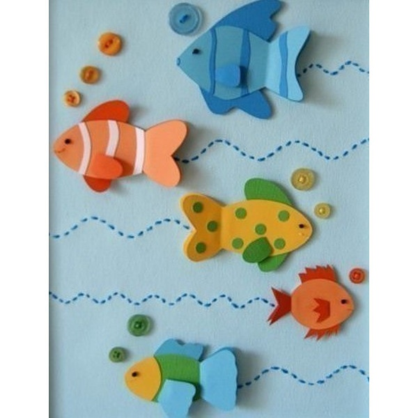 Подводный мир: идеи для творчества с детьми