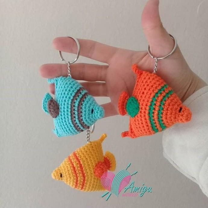 Рыбки брелочки