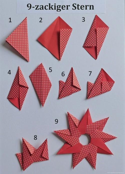 Звёзды-оригами