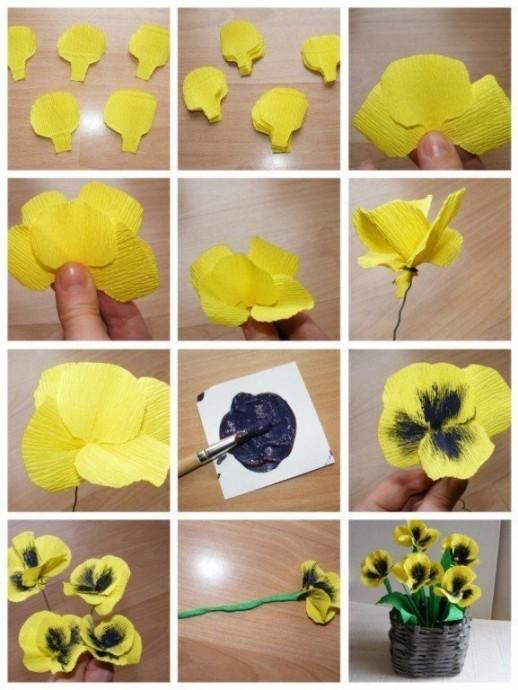 Делаем с детьми самые разные цветочки
