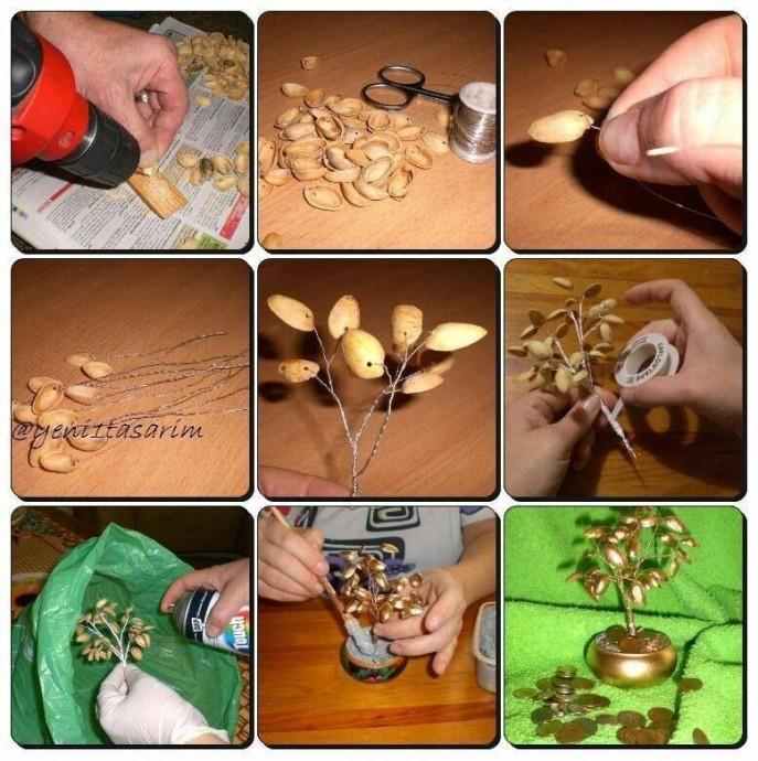 Идеи поделок из скорлупы