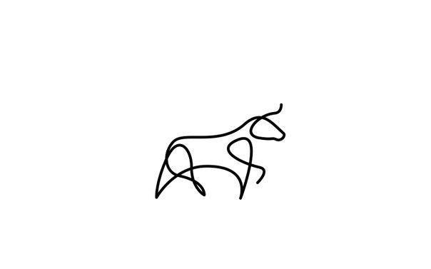 Животные, нарисованные одной линией 1