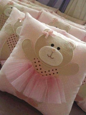 Аппликация на подушку с детьми 2
