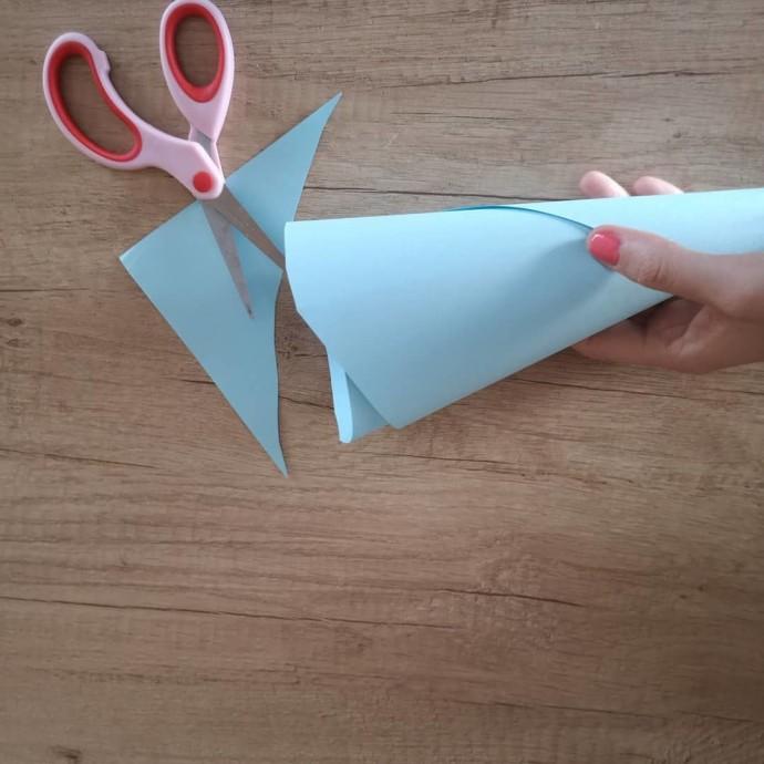 Объемные котики из бумаги