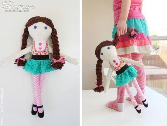 Как сшить куклу 8