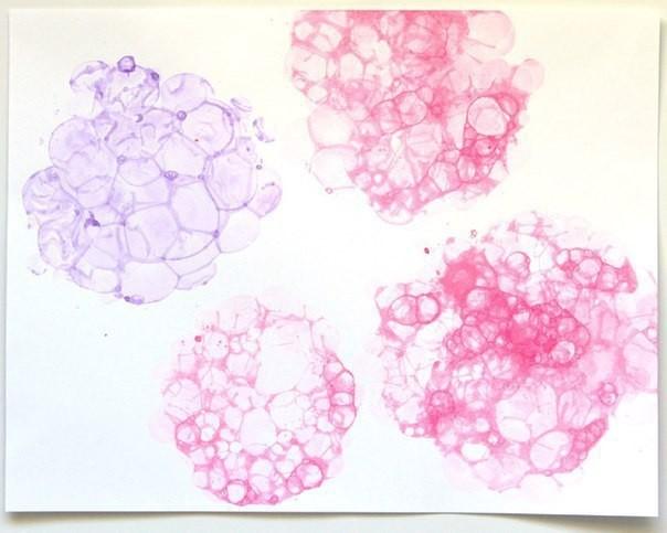 Как рисовать мыльными пузырями 3