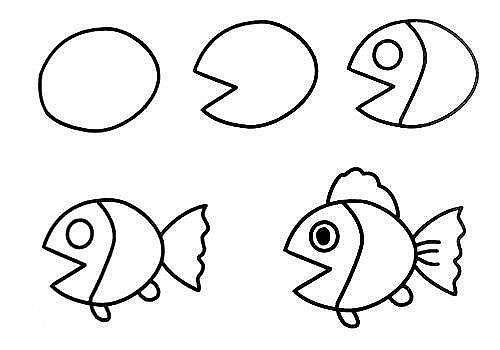 10 примеров, как нарисовать зверей поэтапно 2