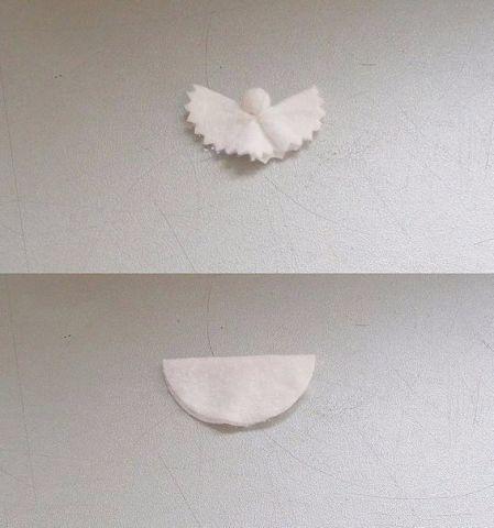 Ангелочки из ватных дисков 3