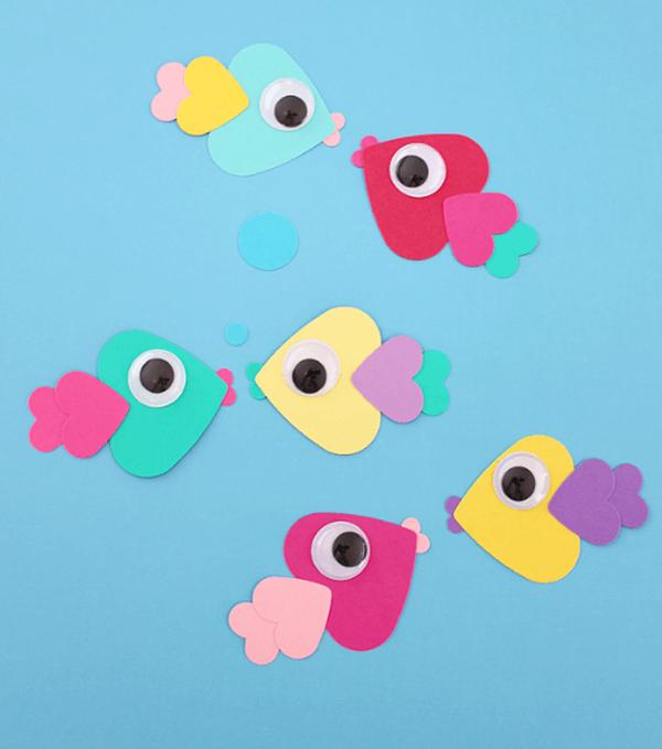 Подводный мир: рыбки