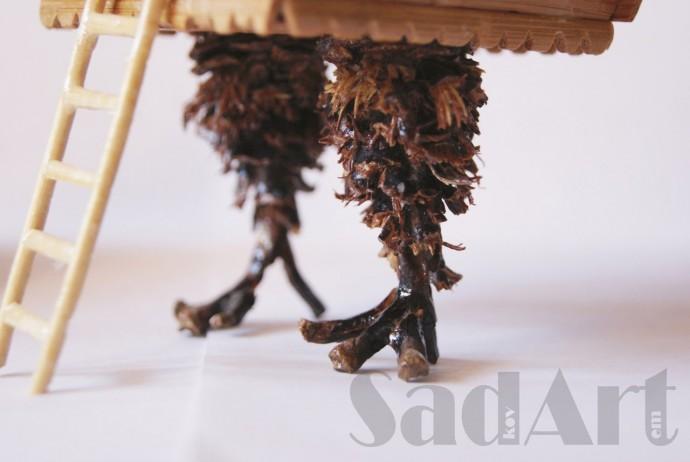 Избушка на курьих ножках