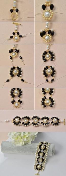 Простые идеи красивых браслетов для детей