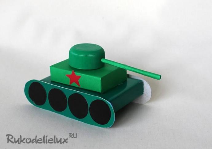 Самолёт и танк своими руками 5