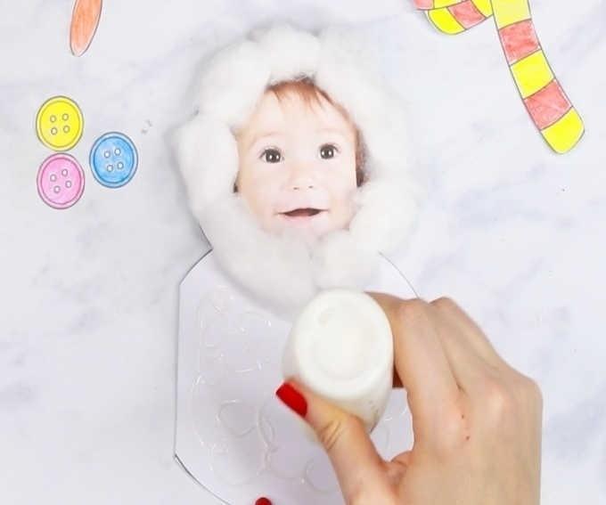 Снеговичок-малыш