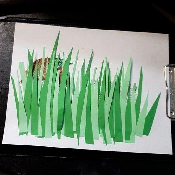 Ёжик в траве