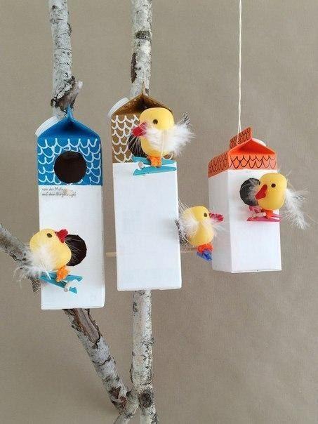 Домики для птичек