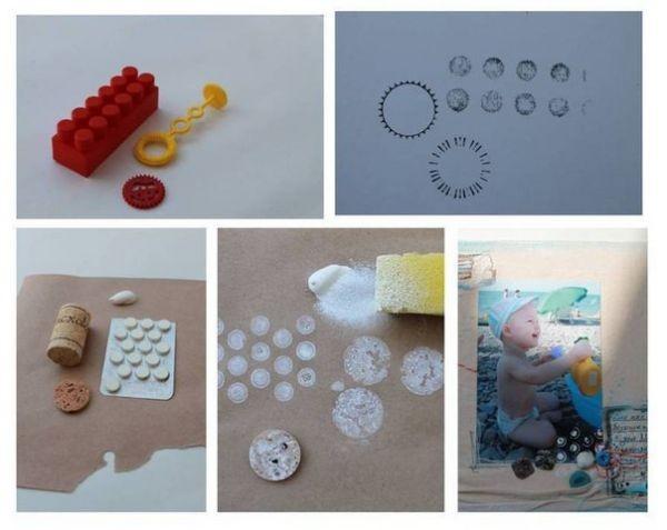 Штампики своими руками из подручных материалов