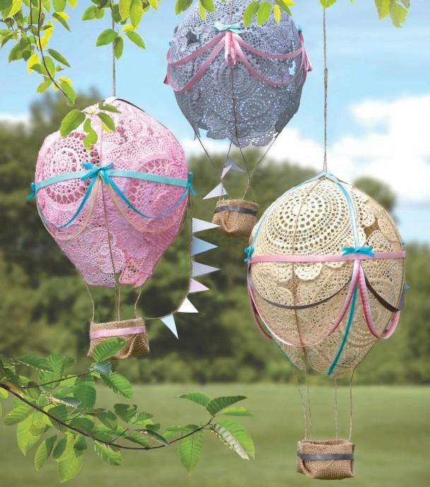 Весёлые идеи для использования воздушных шариков в поделках